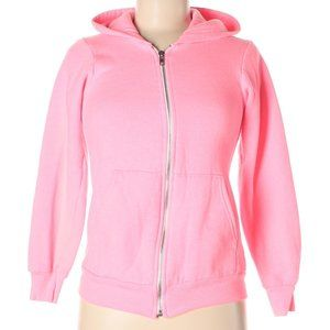 [a52-1] American Apparel   classic pink hoodie
